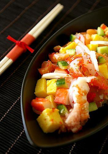 Tirashi zushi  Japanese Food