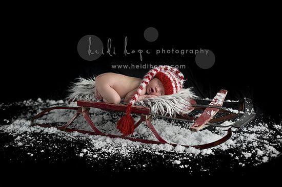 sled newborn