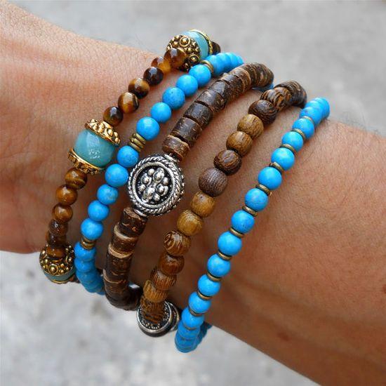 boho chic yoga bracelet