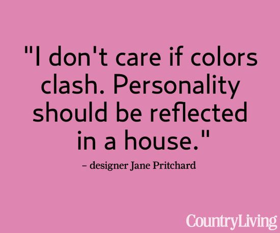 Tour Jane's house: www.countryliving...    #quotes #words #decorating