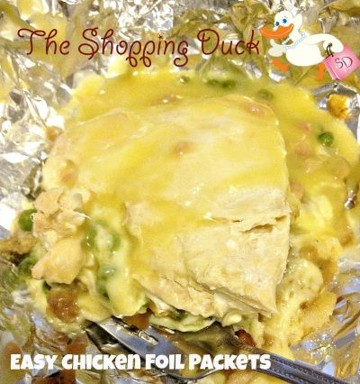 The Shopping Duck - Easy Chicken Foil Packets