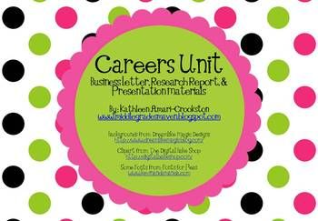 Includes:-Letter to parents asking them to participate in Career Day-A poster welcoming people to Career Day-A template to keep track of part...