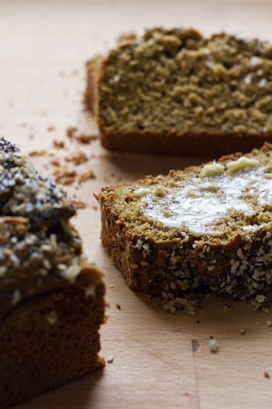Rosemary Everything Quick Bread