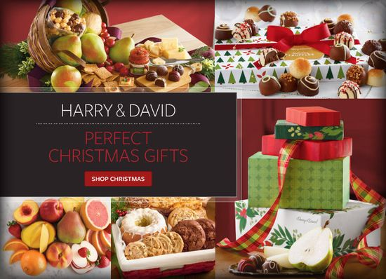 Harry and David Gourmet Gift Baskets with Fresh Fruit and Chocolates