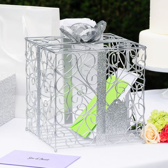 Reception Gift Card Holder. This is cute I'm getting this.