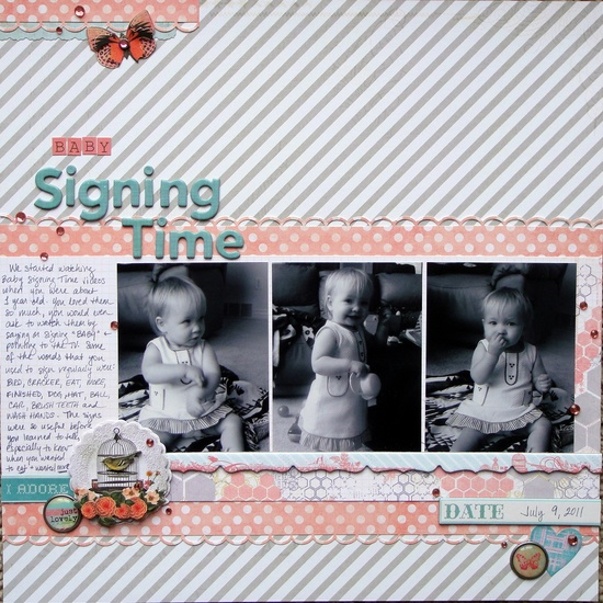 Baby Signing Time - Scrapbook.com
