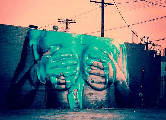 How to make graffiti, art.