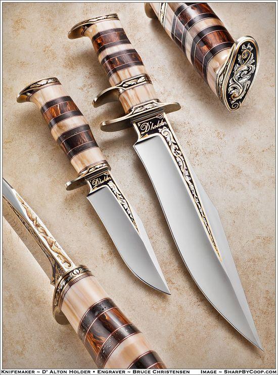 Beautiful knife
