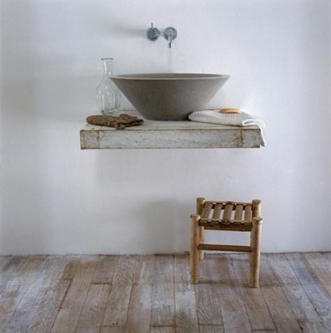 Bathroom - Image via Remodelista
