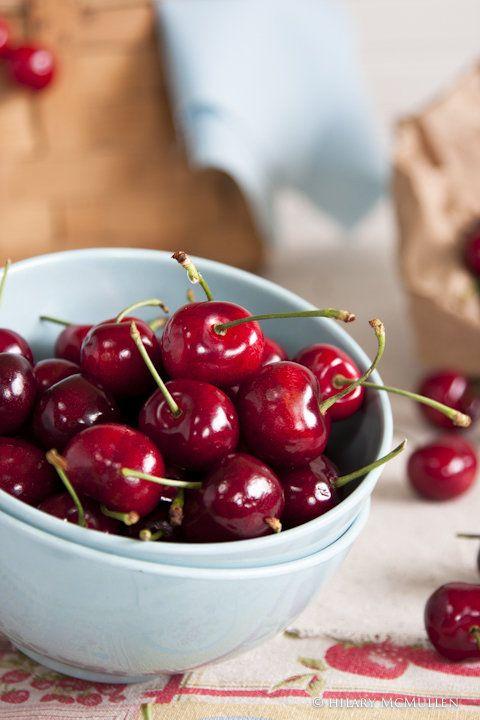 summer fruit: cherries
