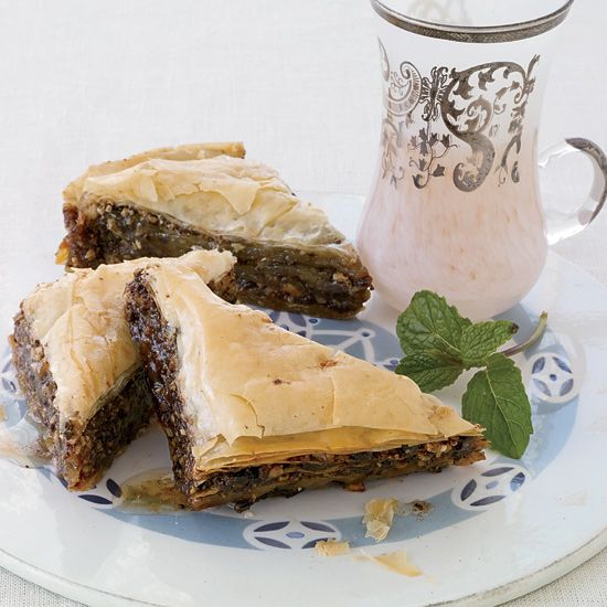 Chocolate-Hazelnut Baklava // More Greek Desserts: www.foodandwine.c... #foodandwine