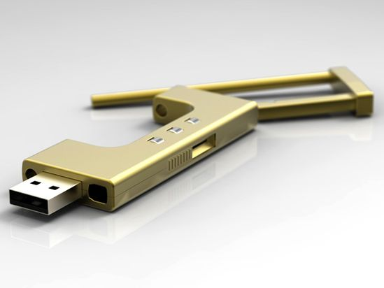 U-Lock - A Number-locking USB Flash Drive. Designer: Beijing Technology & Business University