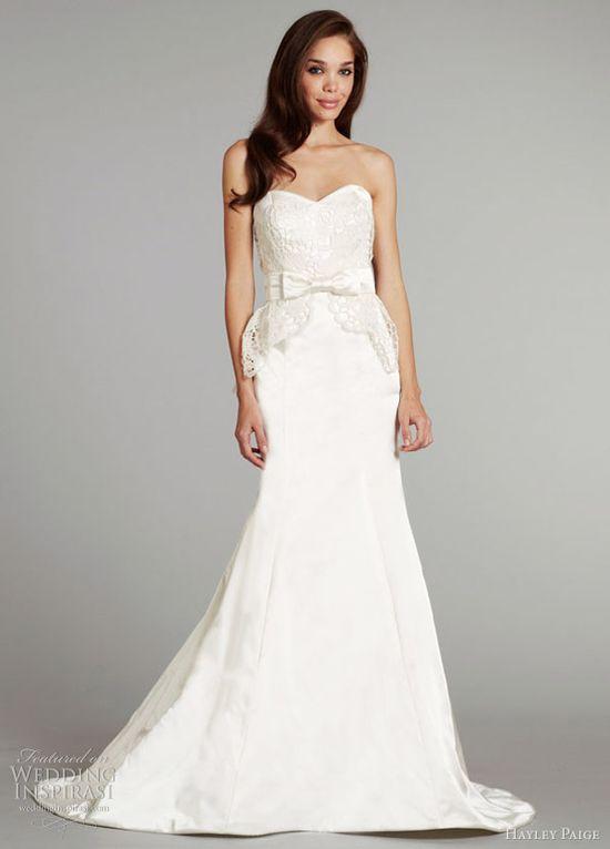 Hayley Paige Fall 2012 Wedding Dresses