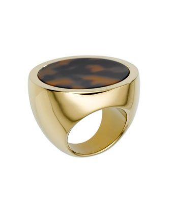 Michael Kors Tortoise Ring.