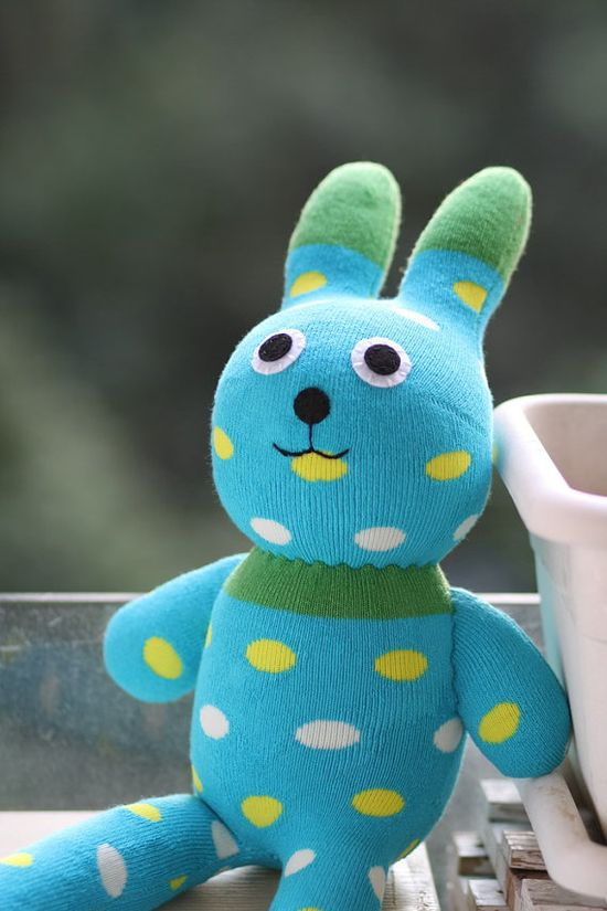Christmas Handmade Large  Easter Bunny stuffed animal toys little girl gift sock doll stuffed animal dolls Home Decor