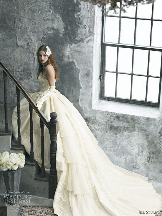 Jill Stuart Romantic Wedding Dresses 2010
