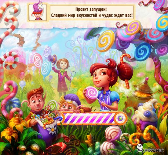 Chocolate Factory by Grafit , via Behance