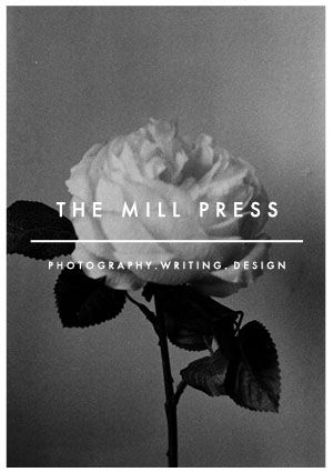 The Mill Press ROSE EMBLEM Poster.