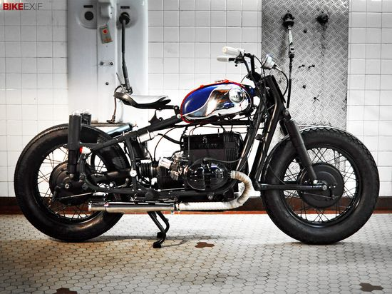 Paris-based Blitz Motorcycles have been enjoying a long love affair with old BMW 'airheads.' Here's their latest, an R60/2 called 'French Bobber.'