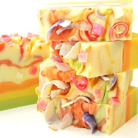 Tutti Fruiti Handmade Artisan Cold Process Soap by SV.Soaps
