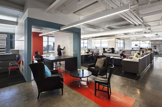 Design your office in different way.