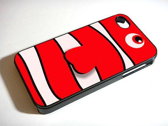 Cartoon Parody Finding Nemo - Custom iPhone 4/4S, iPhone 5, Samsung Galaxy S3 Case