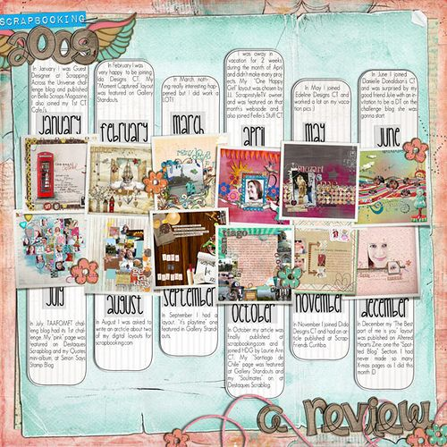 Scrapbook page about scrapbooking! Great idea. Now I just need to scrapbook more.. or at least once a month. heh