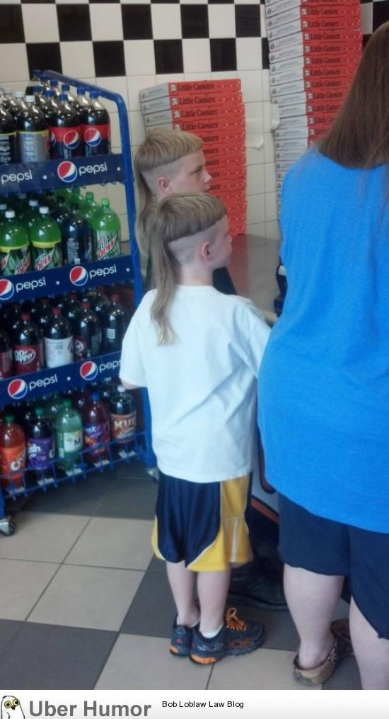 The mullet. Oh those poor kids