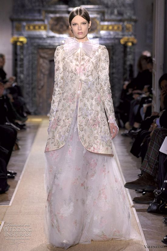 Valentino Bridal Gown S/S 2012