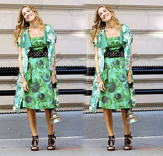 SJP- Mixed prints, with an added edge