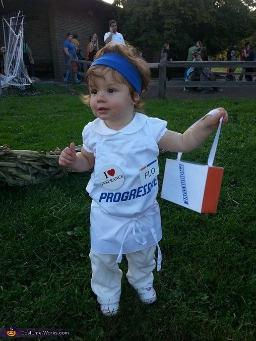 Flo from Progressive Insurance - Cute Baby Costume