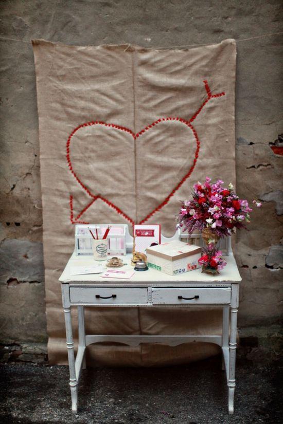 Valentine's Day backdrop