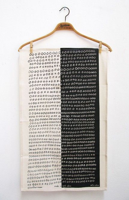 skinny laminx: abacus tea towel from south africa