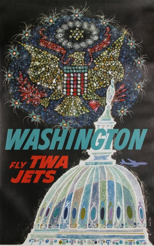 David Klein (1918-2005) : TWA travel