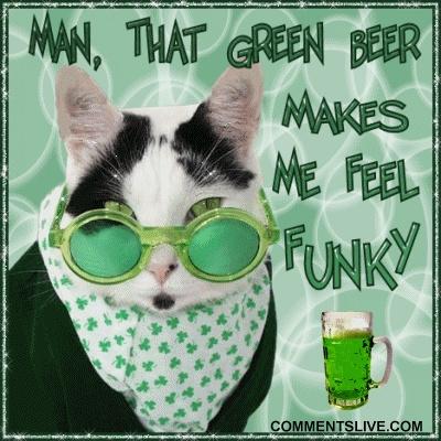 Feline funky drunk