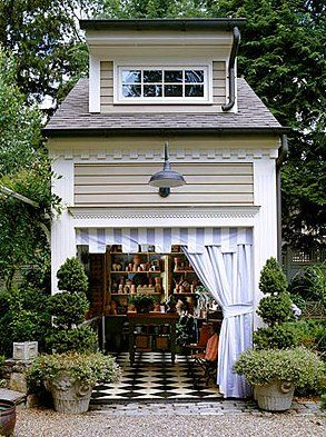 An amazing Potting Shed