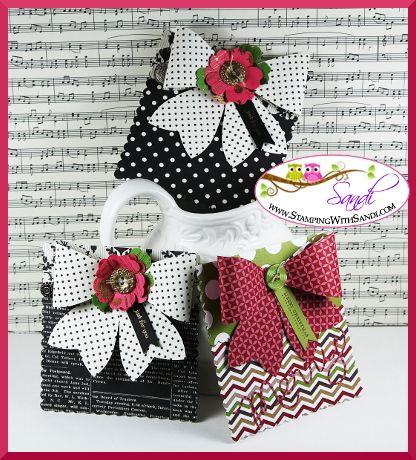 Gift Card Holders and the Gift Bow Die