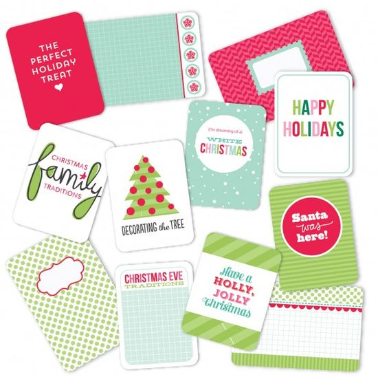 Becky Higgins Merry And Bright Mini Kit