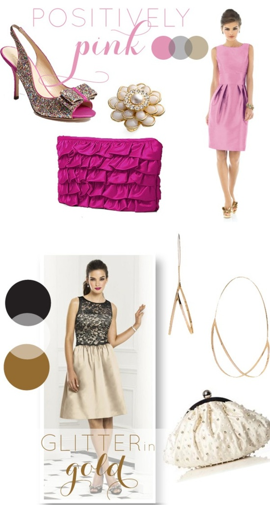 Bridesmaid Dresses and Accessories from The Dessy Group and Nordstrom Wedding Suite