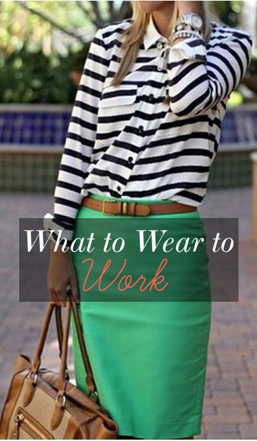 Wear to Work Outfit