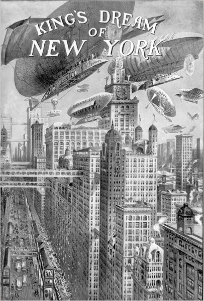 King's Dream of New York 1915 - Part of the New York Times Streetscapes series.