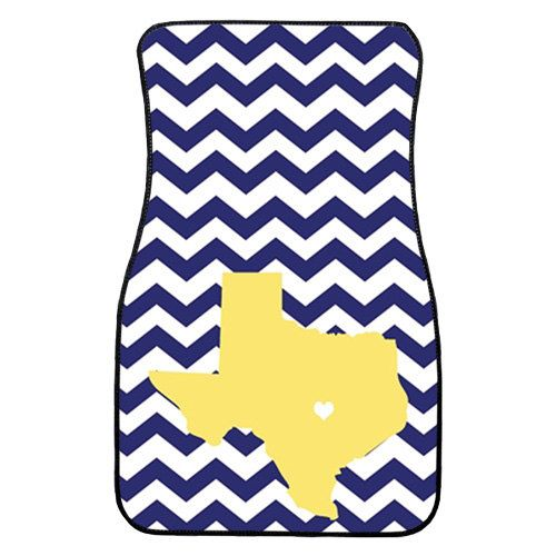 Personalized Car Mats -   State Monogrammed, Custom CAR MATS- Choose Your Own Color/Pattern/Personalization