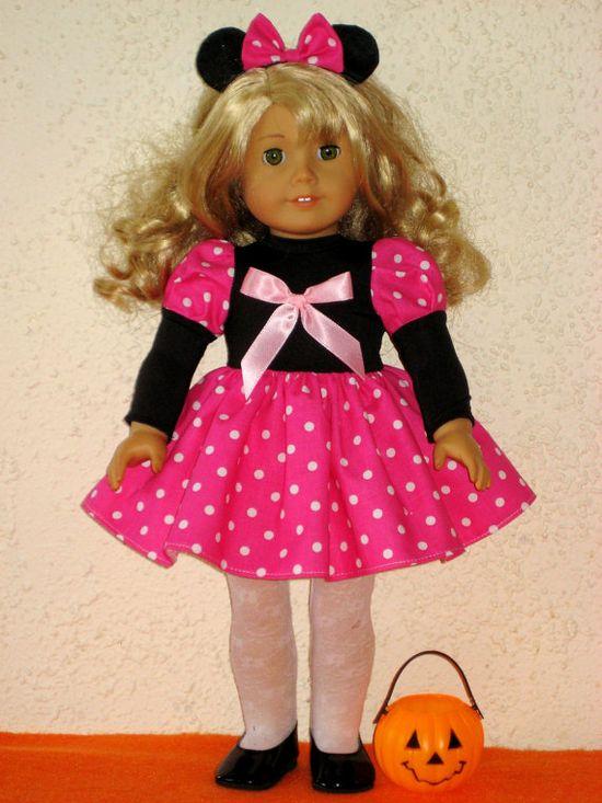 American Girl Minnie Dress