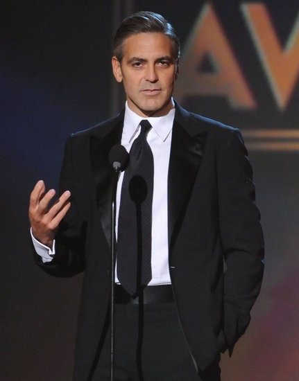 #GeorgeClooney @ 2008 Critics' Choice Awards. #hot #celebrity