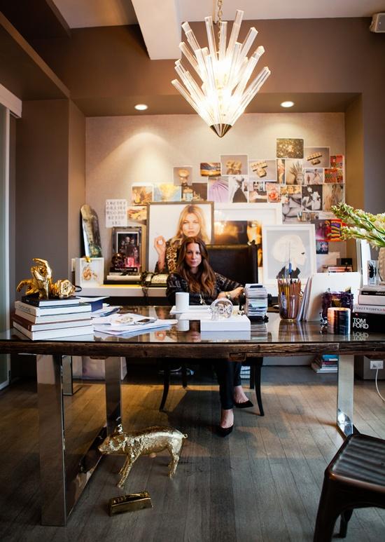 Jennifer Fisher's perfect office.