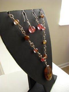 DIY Jewelry Necklace Display