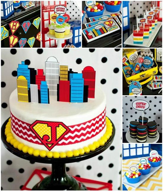 Superhero Party on a Budget with REALLY GREAT IDEAS via Kara's Party Ideas