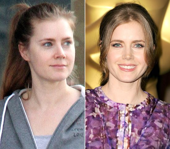 Stars Without Makeup: Amy Adams-cute
