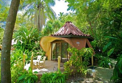 Ylang Ylang Beach Resort - Montezuma, Costa Rica -- vegan dining menu offered