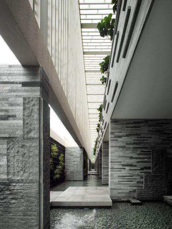 Intercontinental Sanya Resort, Hainan, China designed by WOHA